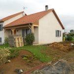 extension de maison à Toul : maison avant travaux