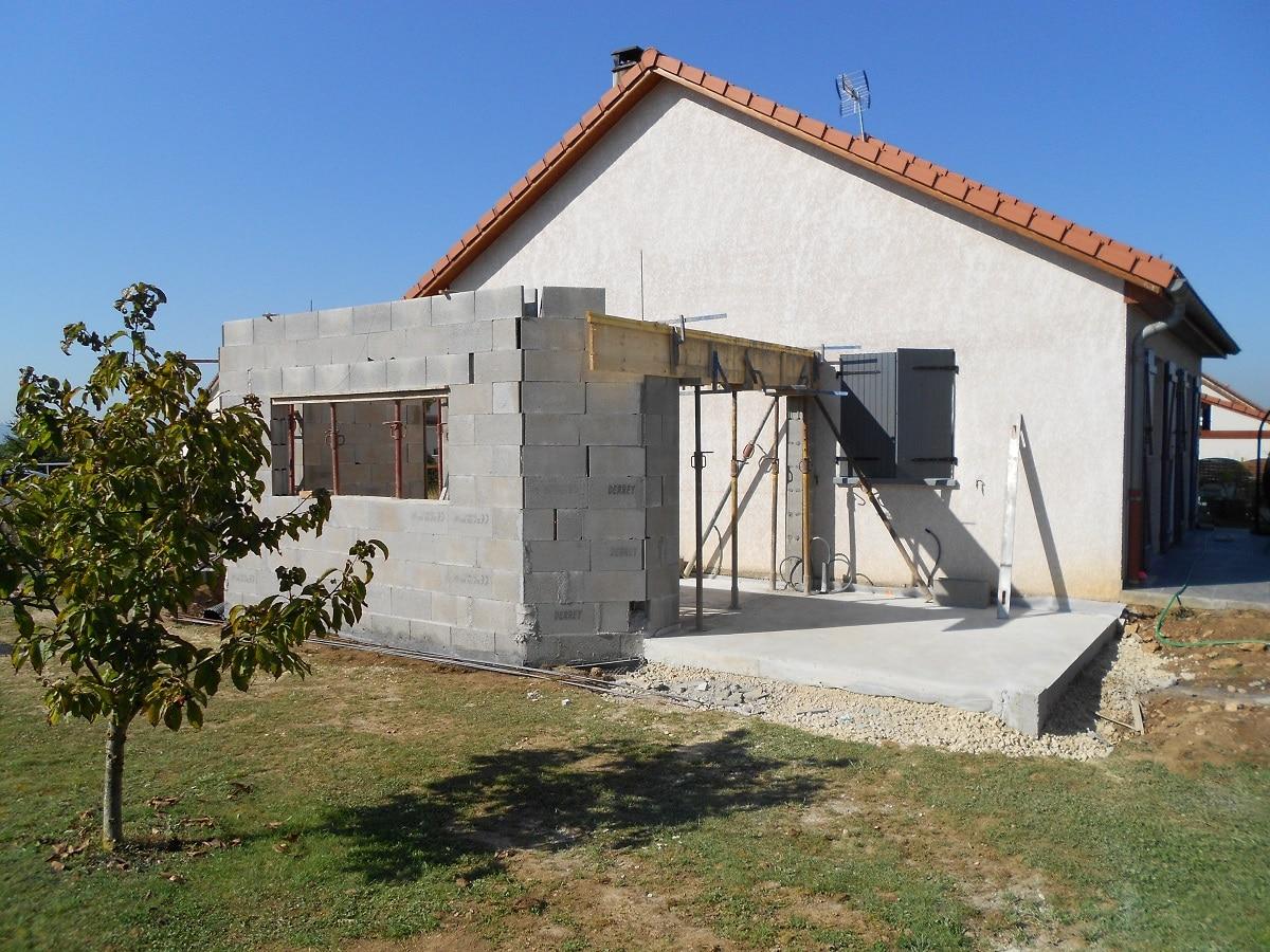 Extension de maison à Toul (54)