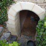 Rénovation d'une cave à Maze-Milon : accès à la cave