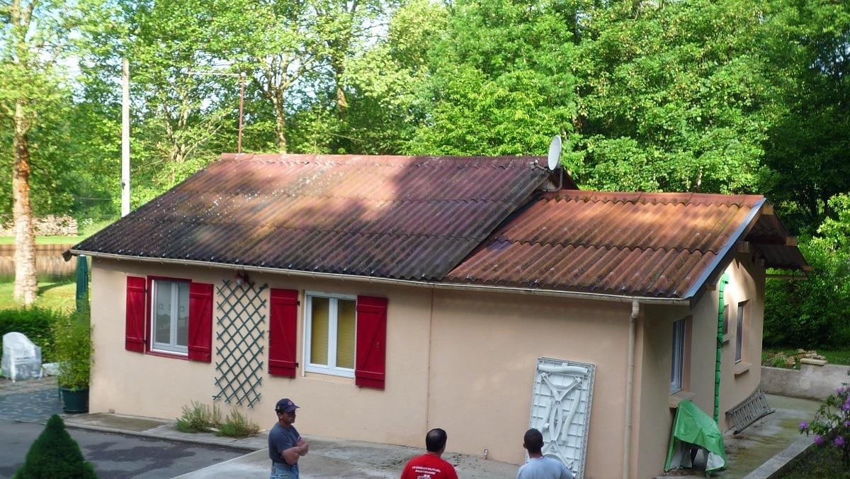 Surélévation de maison à Nancy : maison avant travaux