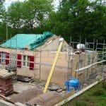 Surélévation de maison à Nancy : avancée du chantier