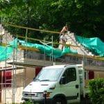 Surélévation de maison à Nancy : chantier d'extension par surélévation