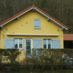 Surélévation de maison à Nancy : façade après travaux