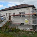 isolation thermique par l'extérieur ITE couche isolation maison façade Jarny