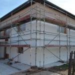 isolation thermique par l'extérieur ITE pose panneau polystyrène façade maison Jarny
