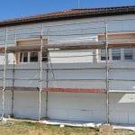 isolation thermique par l'extérieur panneaux isolants polystyrène façade ITE Jarny