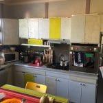 rénovation cuisine avant travaux dépose Belleville-sur-Vie