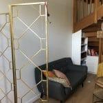 rénovation intérieure appartement peinture mur aménagement bibliothèque escalier Grenoble