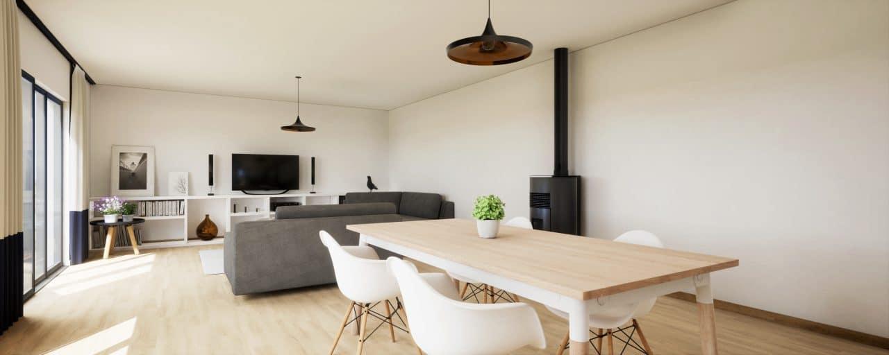 rénovation de maison à Aix-en-Provence - pièce de vie