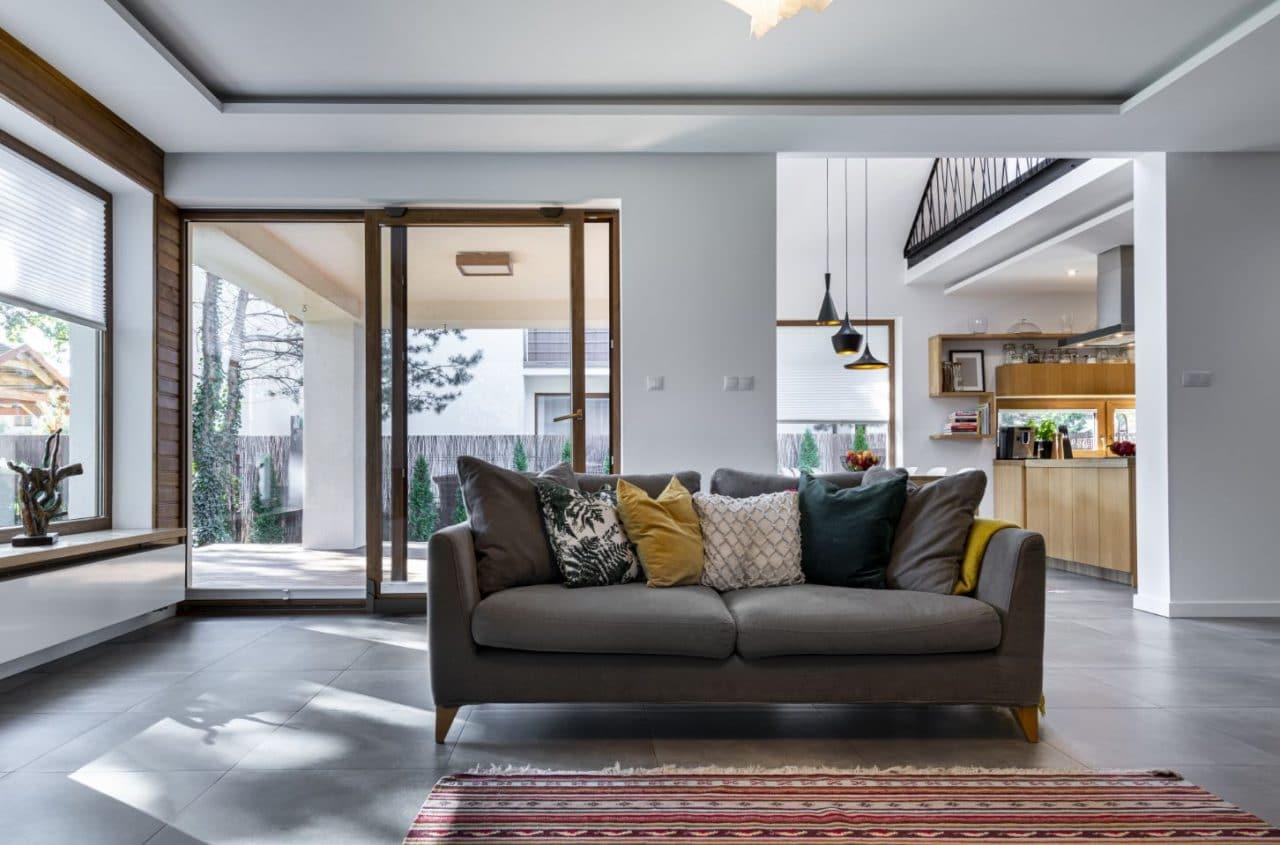 Rénovation de maison à Amiens - pièce de vie