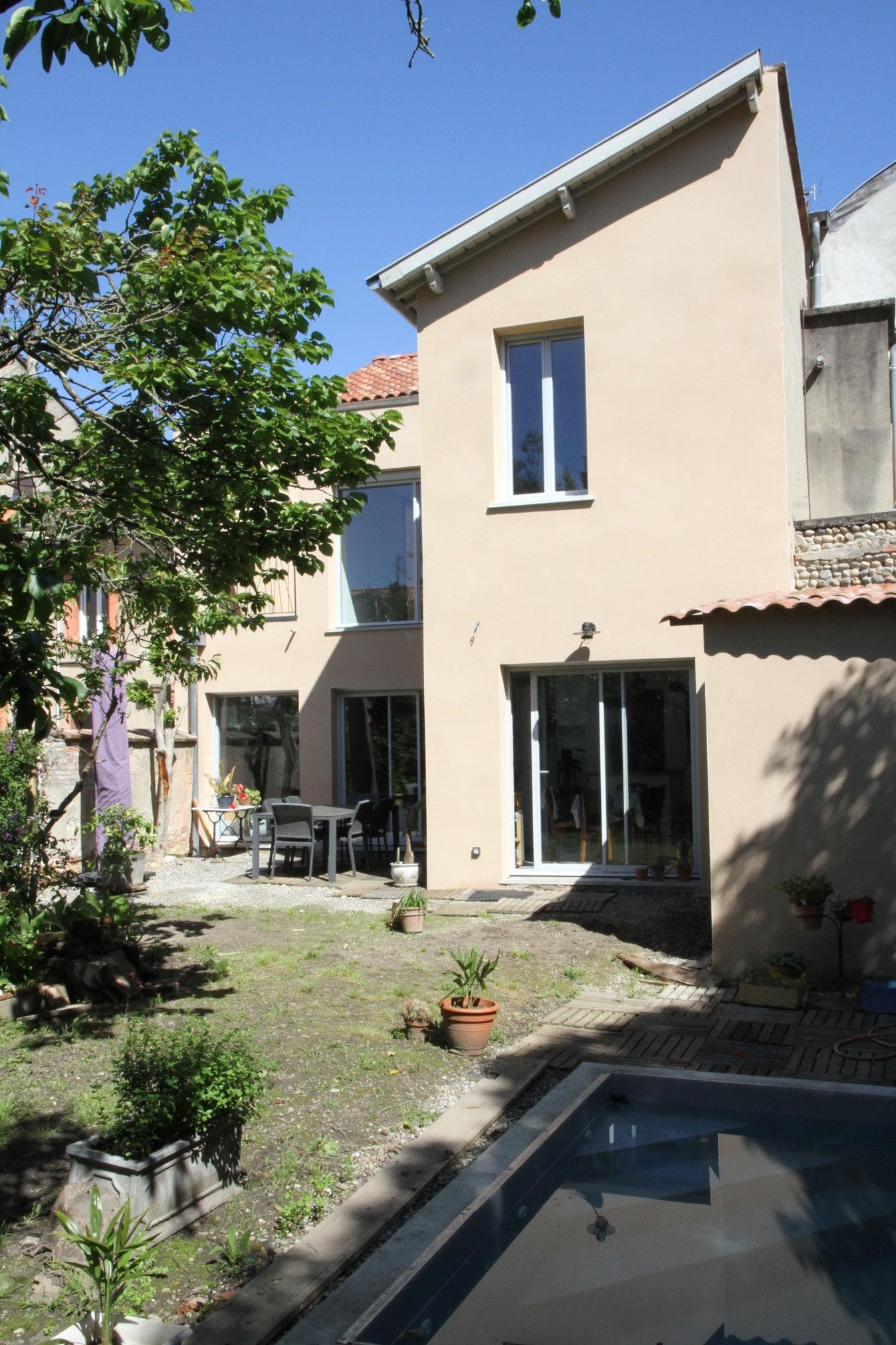 Une maison entièrement rénovée à Toulouse (31)