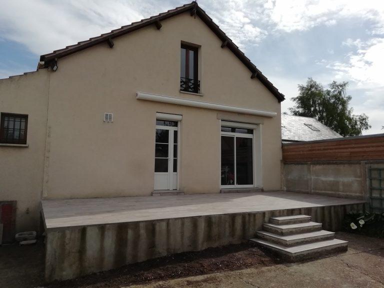 Rénovation intérieure et extérieure d'une maison à Mainvilliers (28)