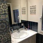 rénovation salle de bain évier avant travaux dépose Saint-Ismier