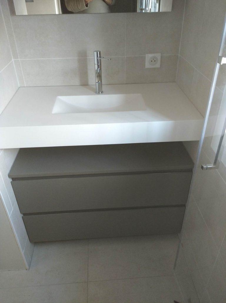 Rénovation d'une salle de bain à Saint-Ismier (38)