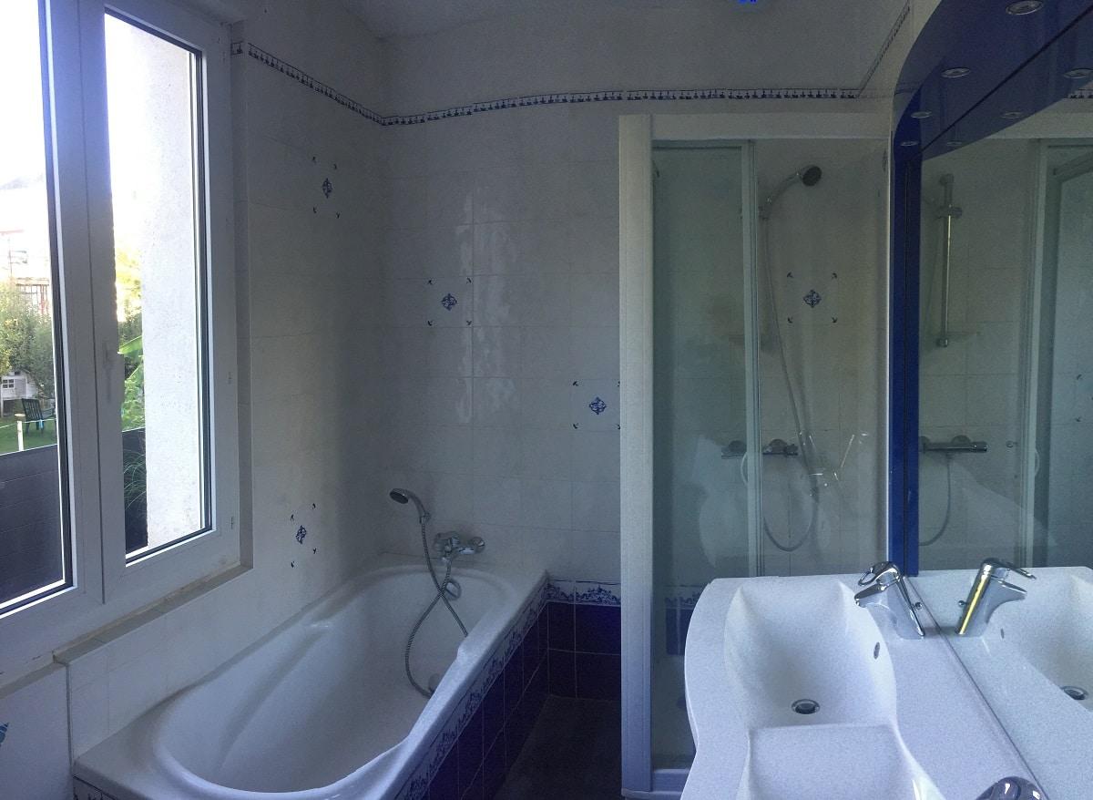 Rénovation d'une salle de bain à Saint-Cyr-sur-Loire (37)