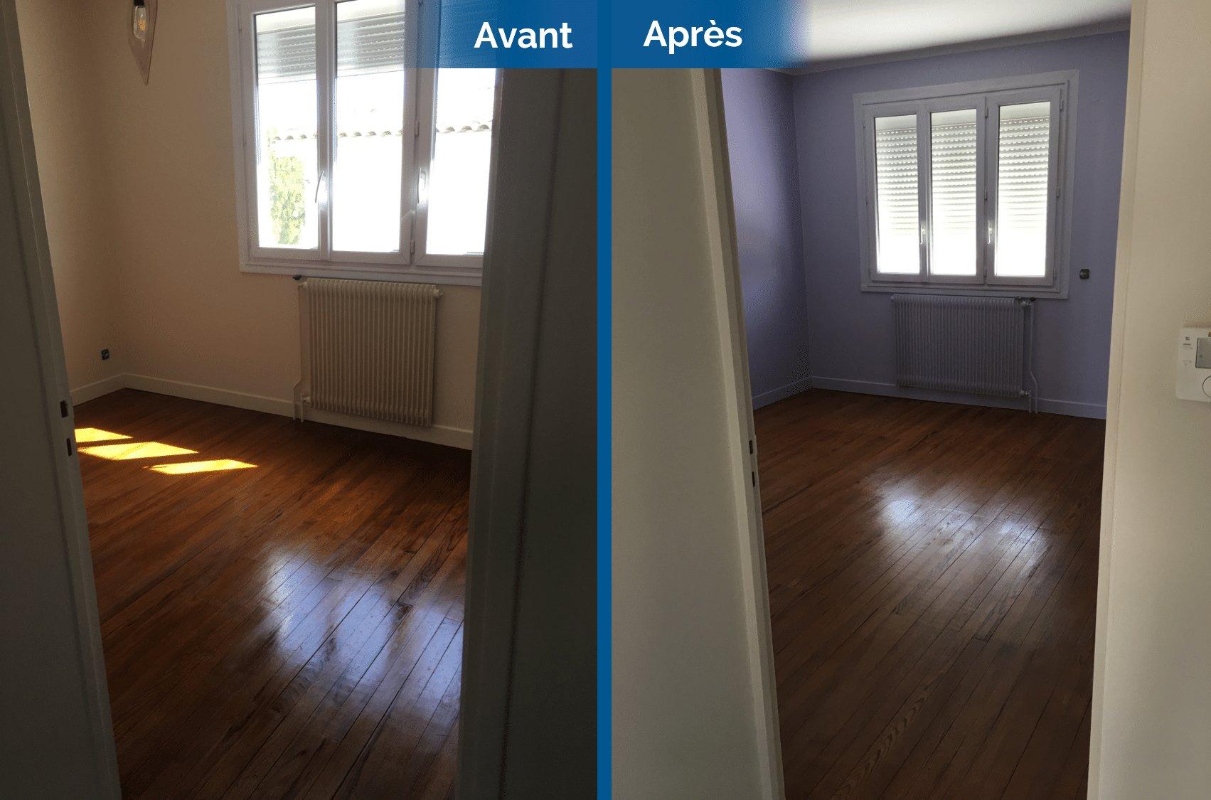 Avant/après d'une rénovation de maison à Toulouse (31)