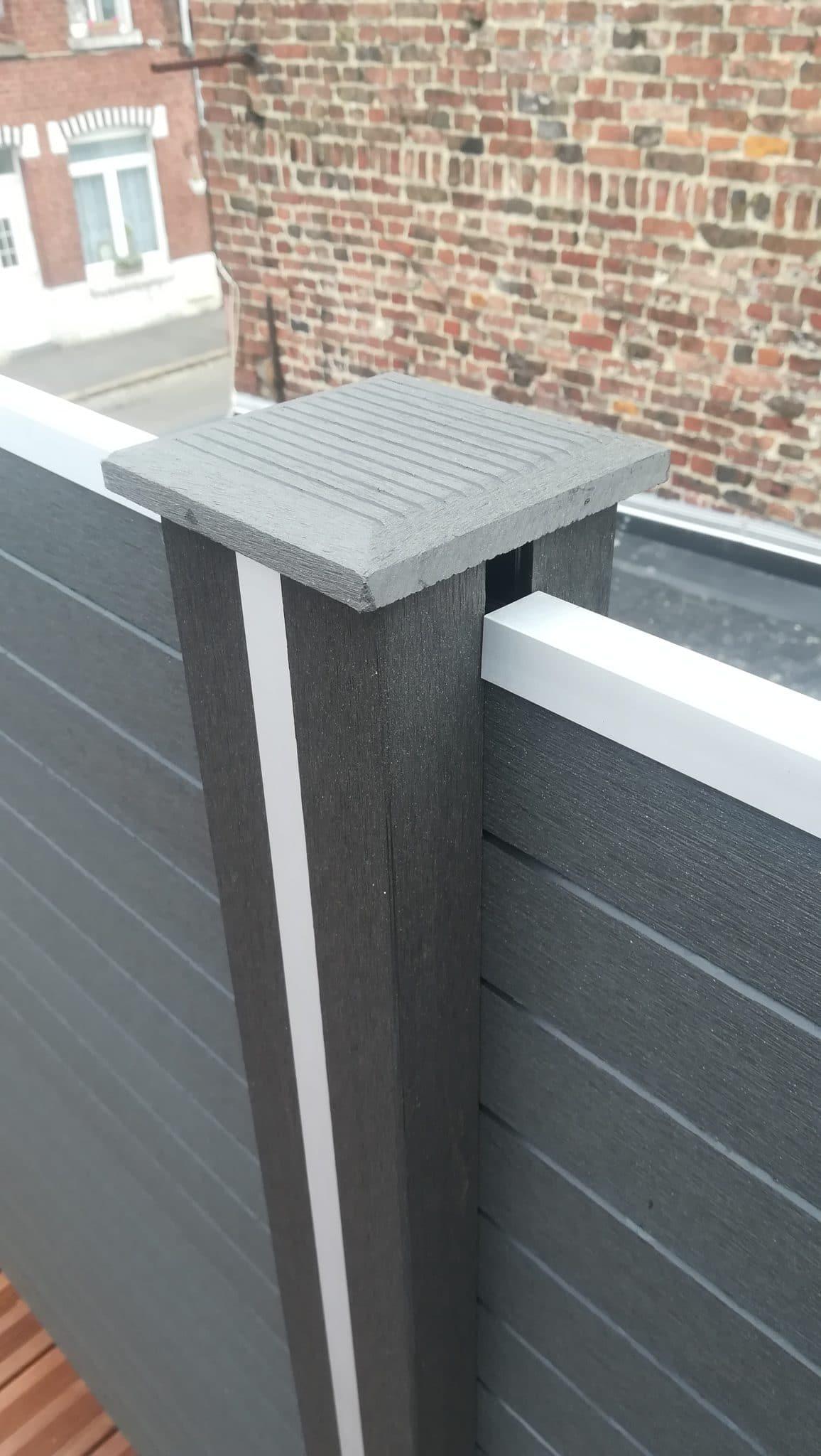 Aménagement d'une terrasse sur toit plat à Armentières (59)