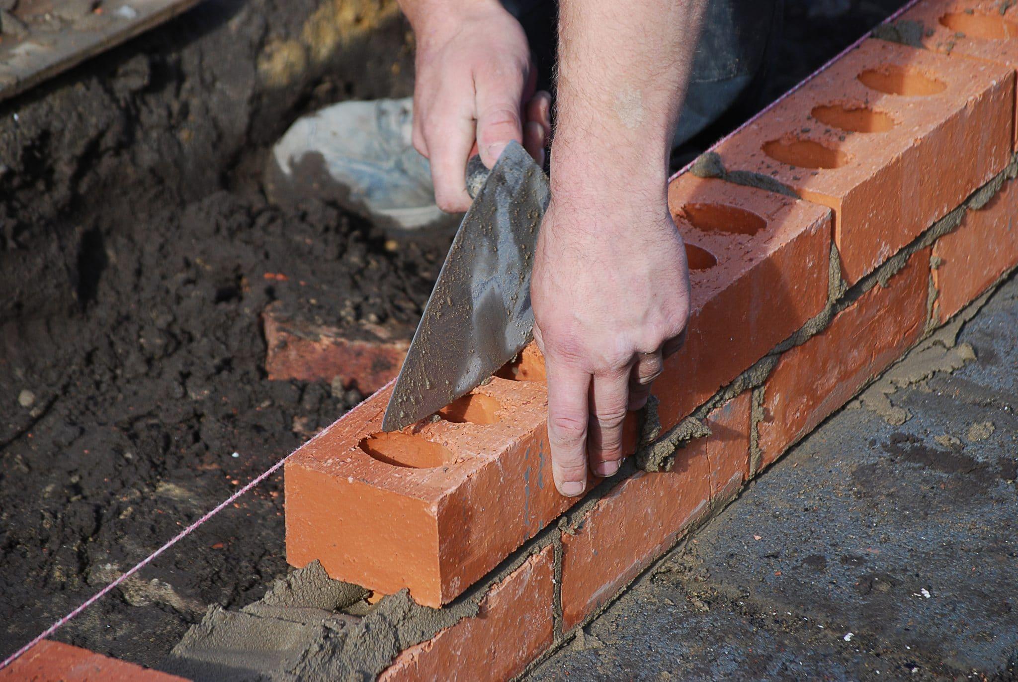 L'extension de maison en brique pour agrandir son logement