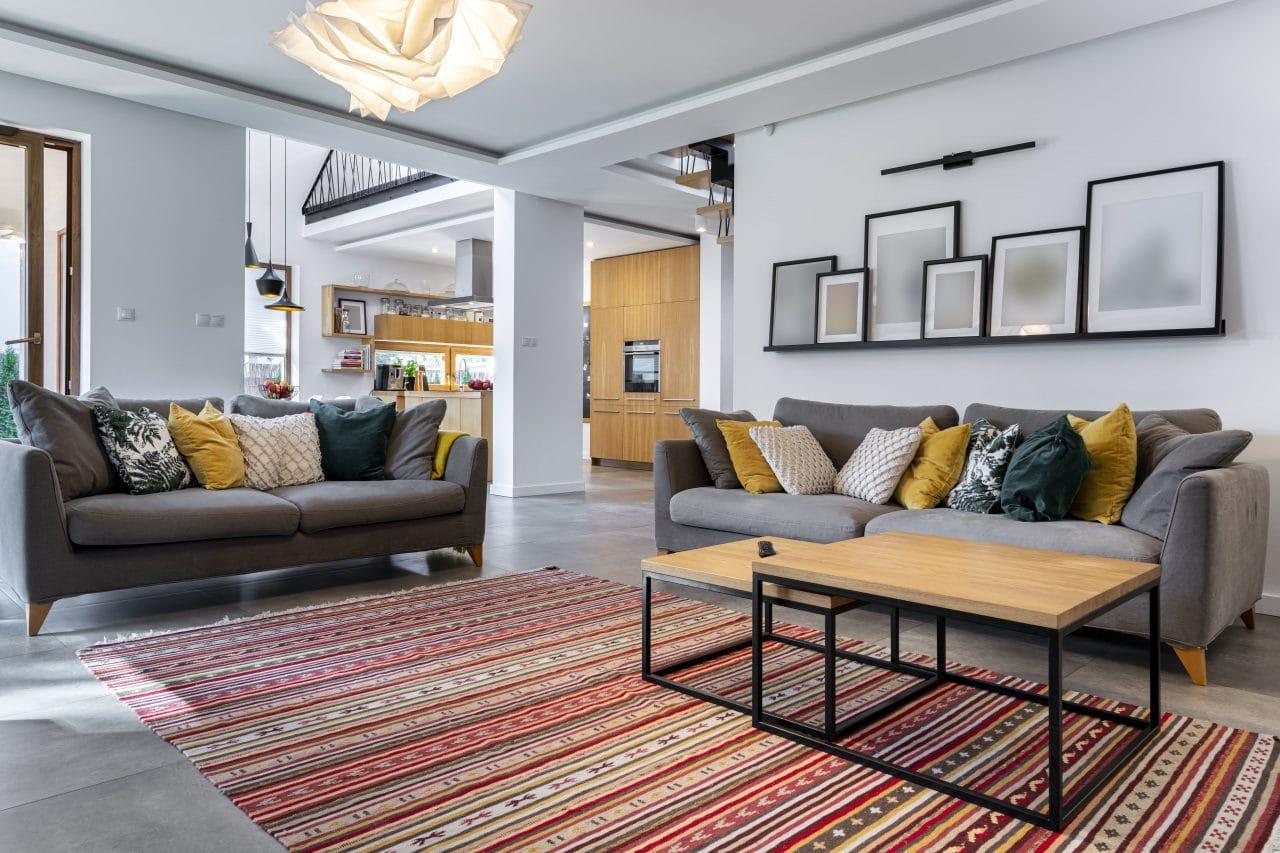 extension de maison à Aix-en-Provence-salon