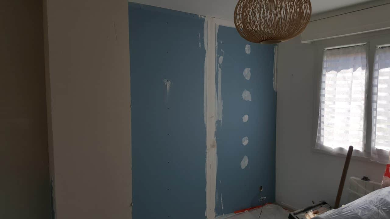 isolation phonique placos phoniques mur mitoyen nuisance sonore Lambersart