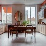 rénovation appartement Lyon : salle à manger
