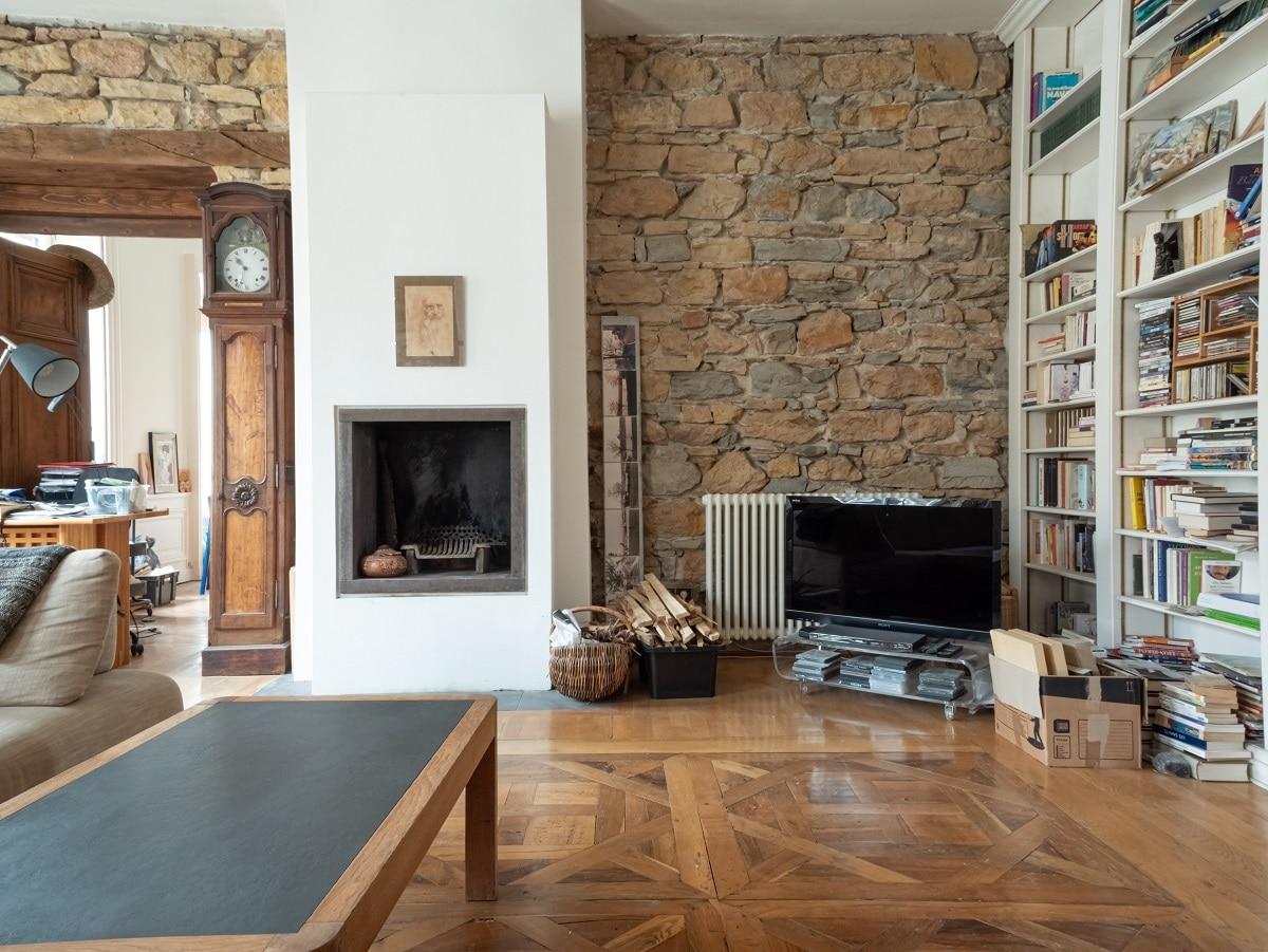 rénovation appartement Lyon: pièce de vie