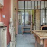 rénovation appartement Lyon : verrière pour plus de luminosité