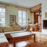 rénovation appartement Lyon : salon