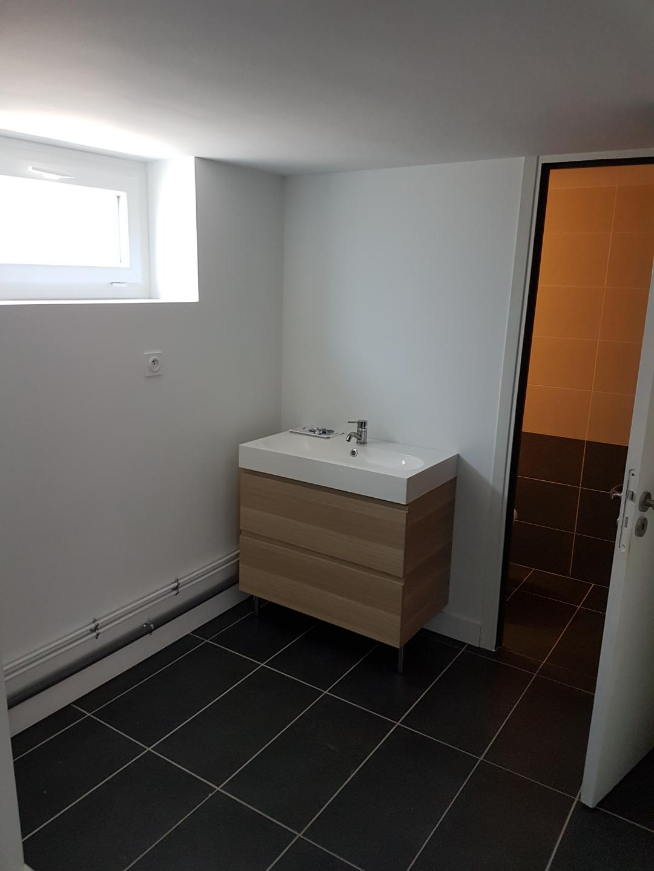 Création de deux appartements dans un duplex à Lanester (56)