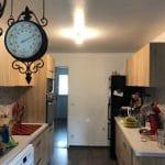 rénovation cuisine : cuisine aménagée meuble placard bois plan de travail Archicourt