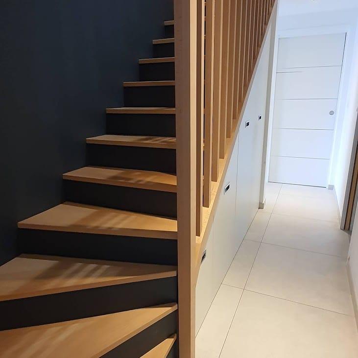 Rénovation d'un escalier à Saint-Julien de Concelles (44)