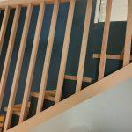 rénovation escalier garde corps barre bois marche rangement sur mesure Saint-Julien de Concelles