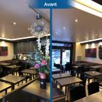 rénovation restaurant avant travaux Lyon 6
