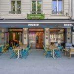 rénovation restaurant devanture façade extérieure peinture Lyon 6