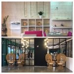 rénovation restaurant Perpignan avant et après table bar