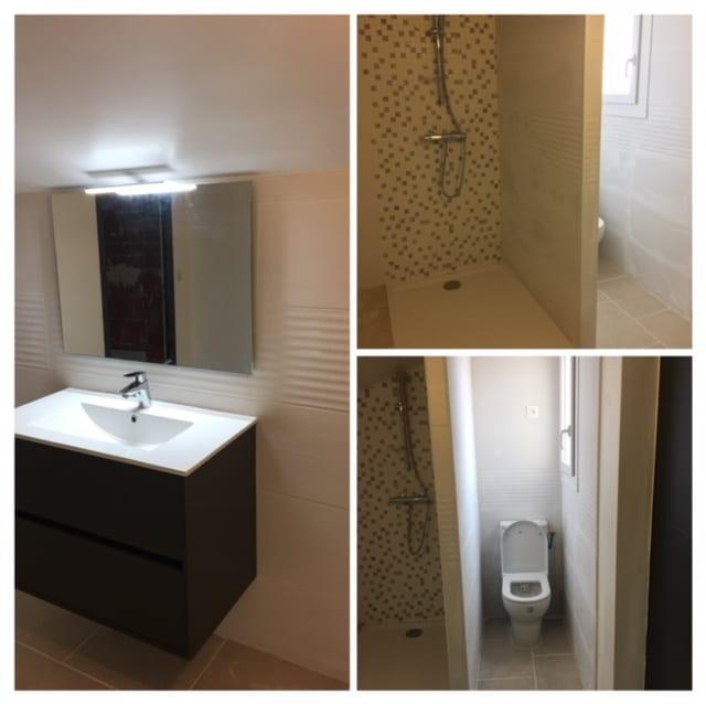 Rénovation d'une salle de bain à Saint- André, près de Perpignan (66)