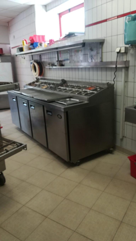 Rénovation intérieure d'une cuisine de pizzeria à Marcq-en-Baroeul (59)