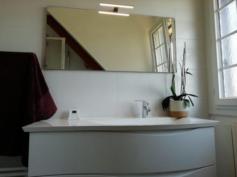 Rénovation d'une salle de bain à Orphin (78)