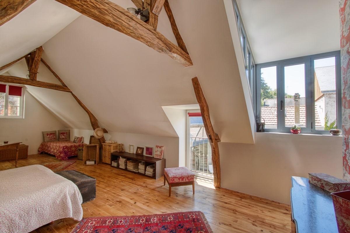 Aménagement de grenier en chambre à Saint-Avertin (37)