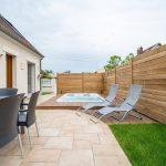 aménagement extérieur à Soissons zoom sur l'ensemble du jardin après aménagement