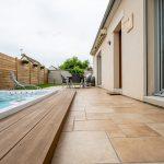 aménagement extérieur à Soissons : finitions