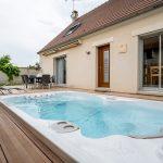 aménagement extérieur à Soissons - zoom sur le spa