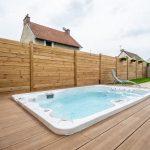 palissade en bois pour limiter la vue des voisins - aménagement extérieur à Soissons