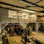 création bureaux local professionnel espace stockage mezzanine étage Saint-Egrève
