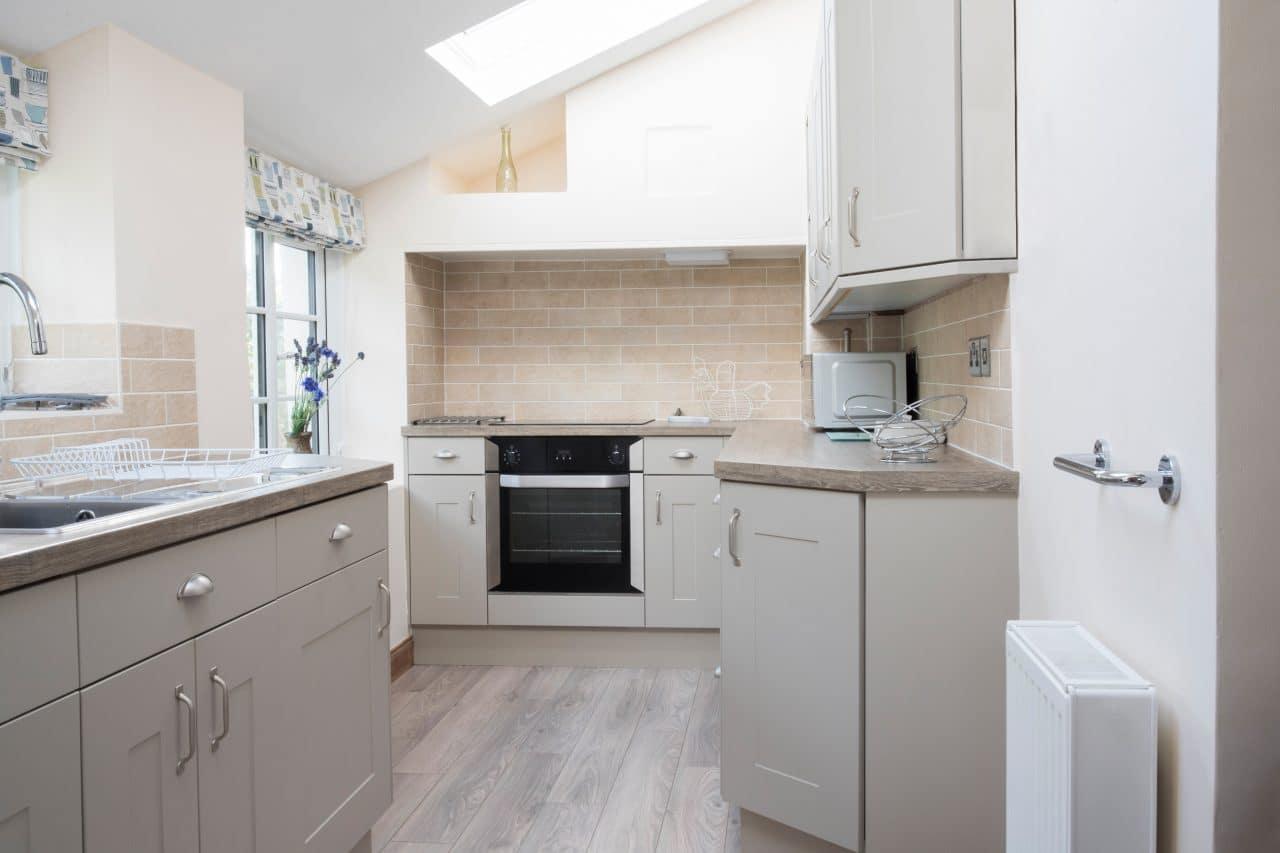 Extension de maison à Amiens - cuisine sous combles