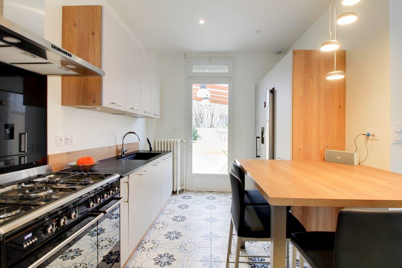 extension de maison à Dijon cuisine