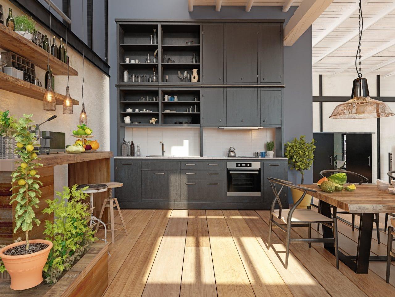 extension maison Saint-Etienne cuisine