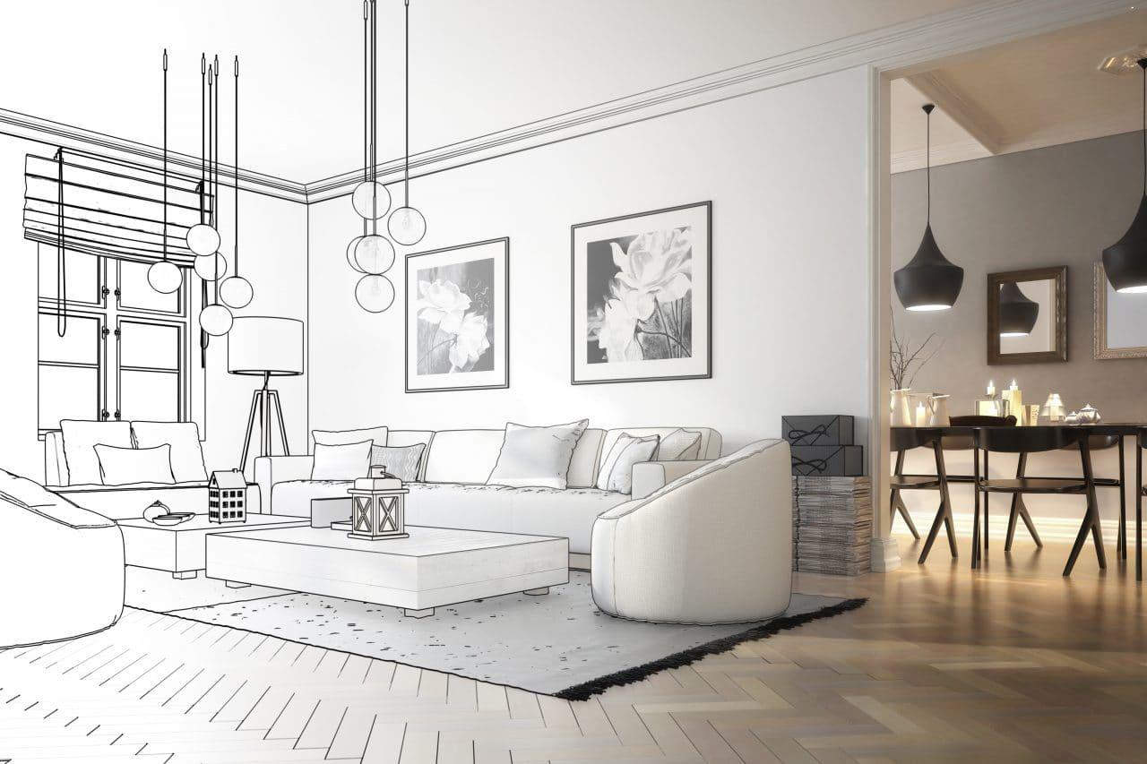 extension maison Saint-Etienne : agrandissement séjour