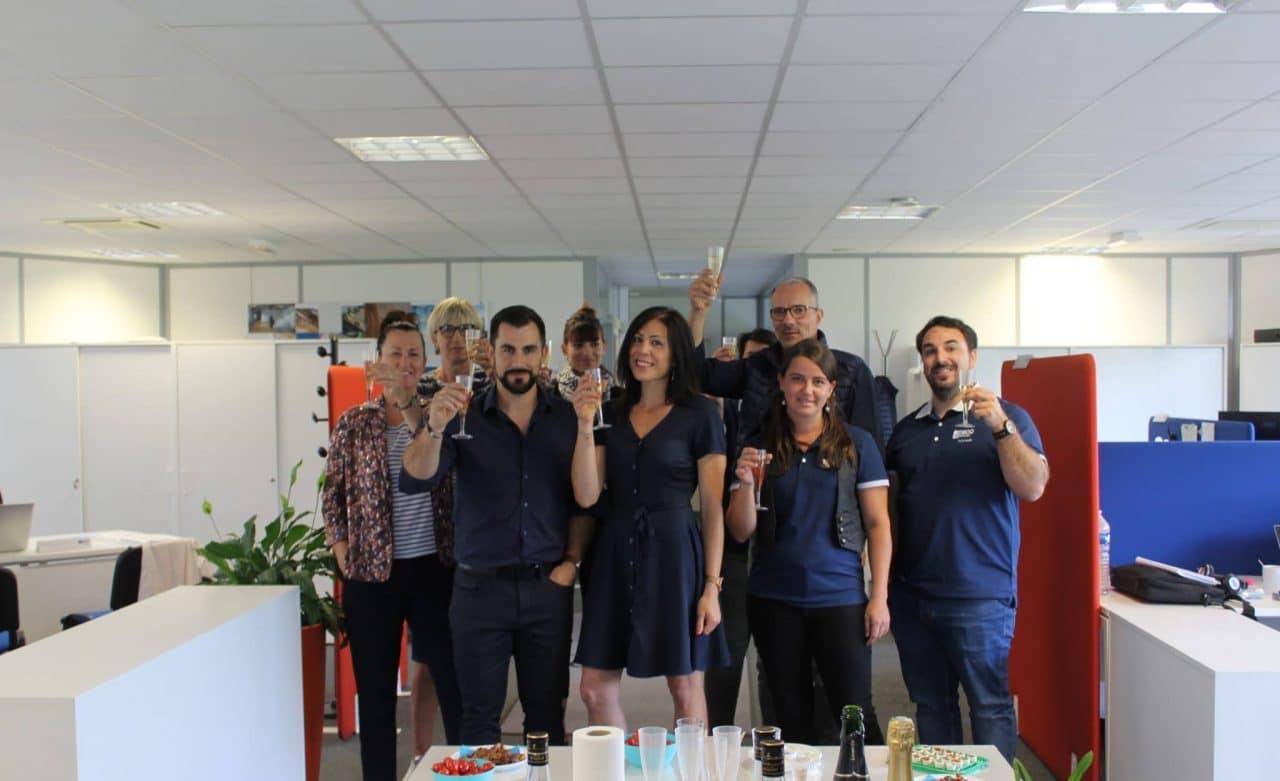 Julie Camus et Laurent Siino : nouveaux responsables illiCO travaux Sens