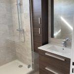 vue générale de la salle de bain - rénovation appartement Montesson